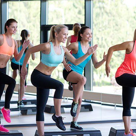 5 aerobic rooms