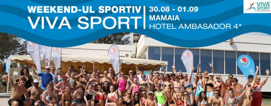 Weekendul Sportiv Viva Sport la mare