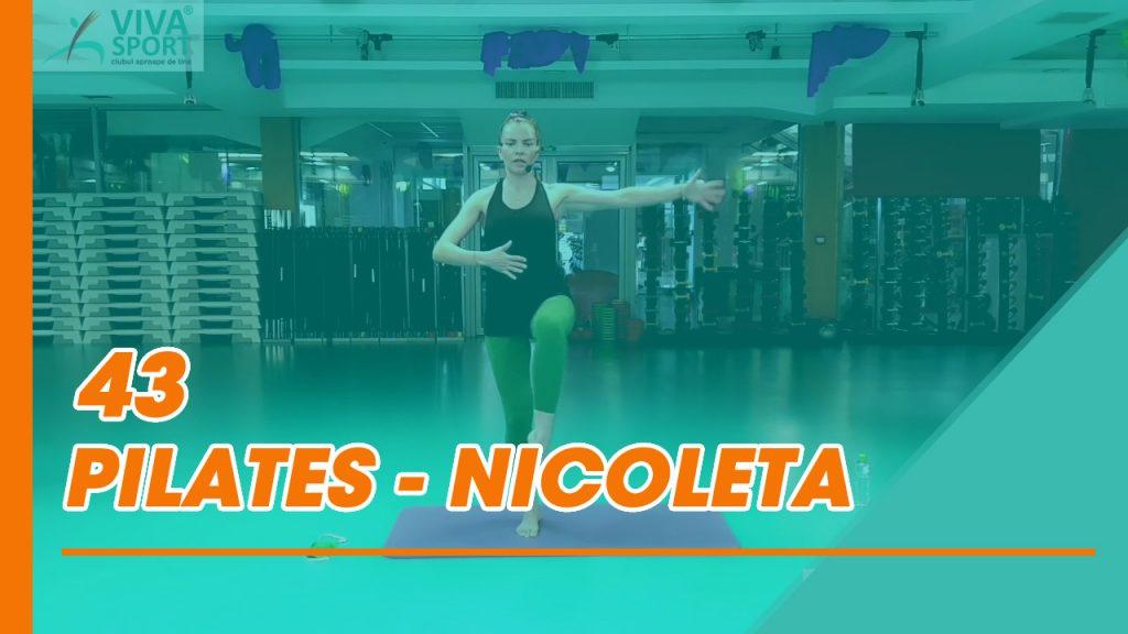 43 Antrenament Pilates