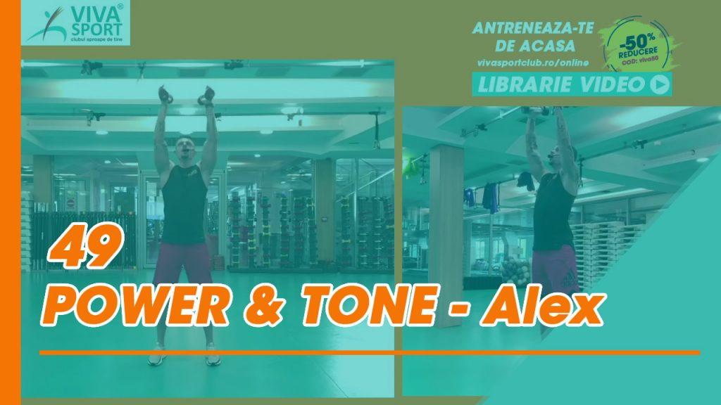 NOU 49 Antrenament Power Tone